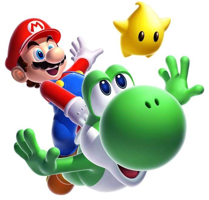 Nintendo Celebrates Mario Day Mario Yoshi Super Mario Galaxy Nintendo Mario Bros