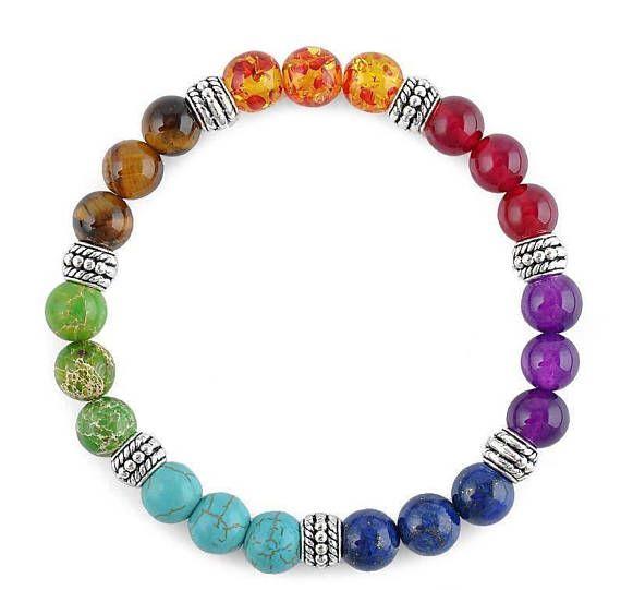 7 Chakra Bracelet Yoga Meditation and Reiki Chakra Bracelet