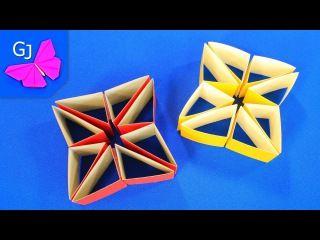 ПОДЕЛКИ<br>Удивительные подвижные игрушки! Мастер-классы для взрослых и детей<br>часть 1<br><br>1/Волшебная головоломка-трансформер своими руками<br>2/Волшебный куб-трансформер из бумаги<br>3/Оригами из бумаги : китайская ловушка для пальцев<br>4/Движущиеся оригами: модульная змейка из бумаги..