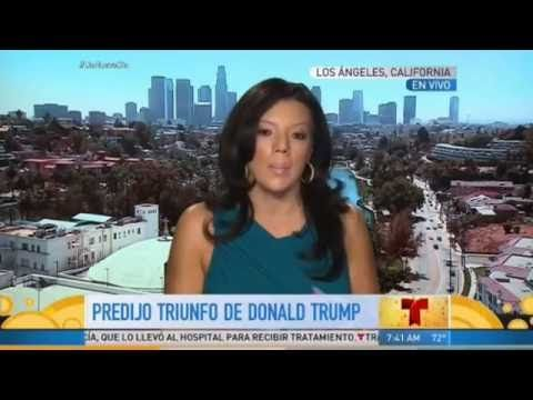 Video: Una vidente colombiana predice la muerte de Donald Trump