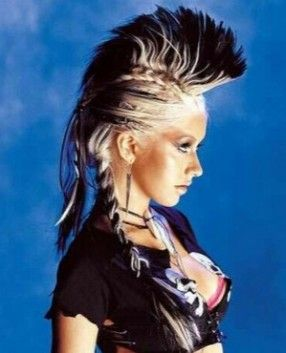 Long Punk Hairstyles.....it's almost there....lol