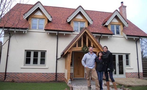 A Flat Pack Oak Framed House For The Home Pinterest