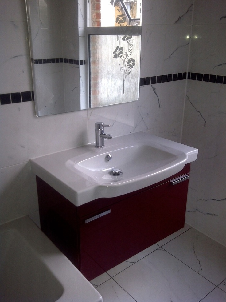 Wide And Shallow Bathroom Sink With Single Tap Make Your Home Design Dreams Come True