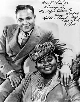 Hattie McDaniel and husband James Lloyd Crawford