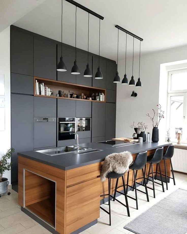 Wanna Have A Bar Styled Kitchen Setup In Your House