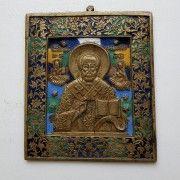 Икона «Святитель Никола Чудотворец». Шесть цветов эмали - Форум