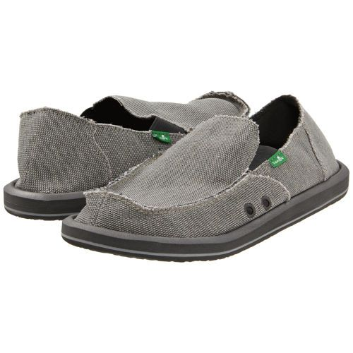 sanuk s vagabond slip on shoe gray numba1 s closet
