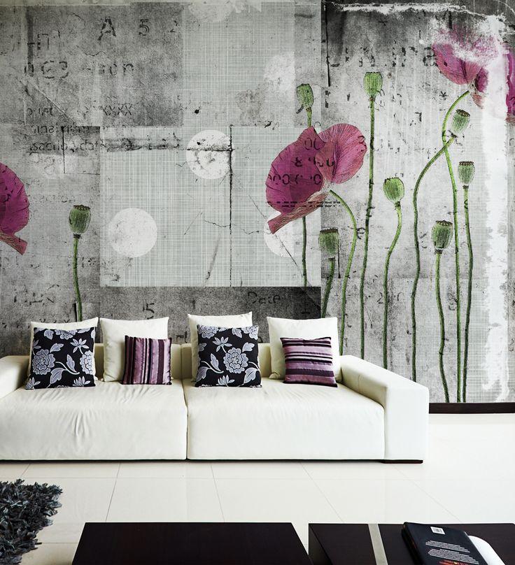 Panoramic wallpaper APRIL Grunge Collection by N.O.W. Edizioni
