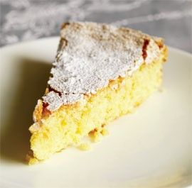 Almond cake (Tarta de Santiago - Galicia) by Claudia Roden from Fine Cooking Magazine, July 2011