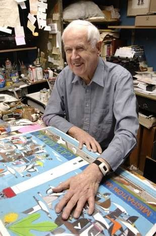 CHARLEY HARPER .... 8/4/1922 -- 6/10/2007 ....  .born in Frenchton, West Virginia .... studio in Cincinnati, Ohio
