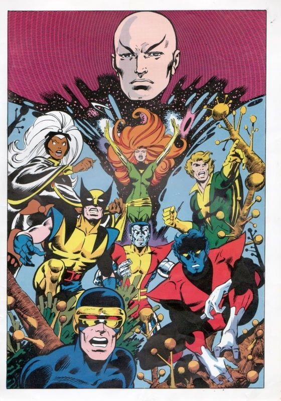 Vintage 1978 x Men Pin Up Poster Marvel Wolverine Storm   eBay