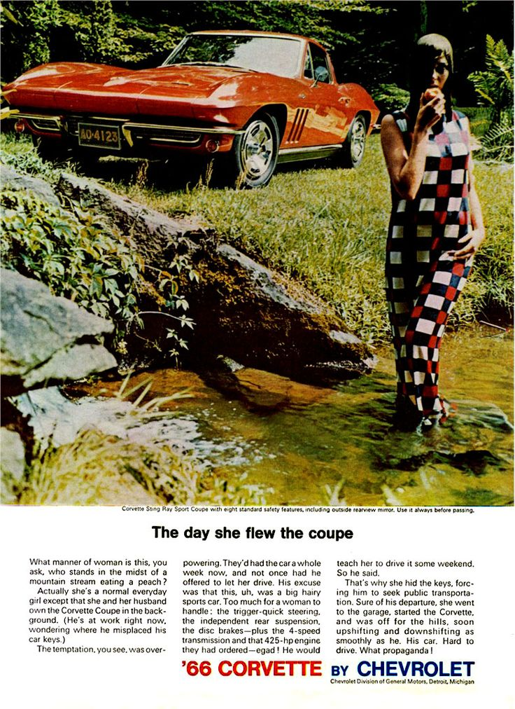 17 Best images about Old School Corvette Ads on Pinterest  Cars