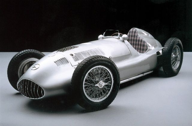 Silver Arrow Mercedes W 154. @designerwallace