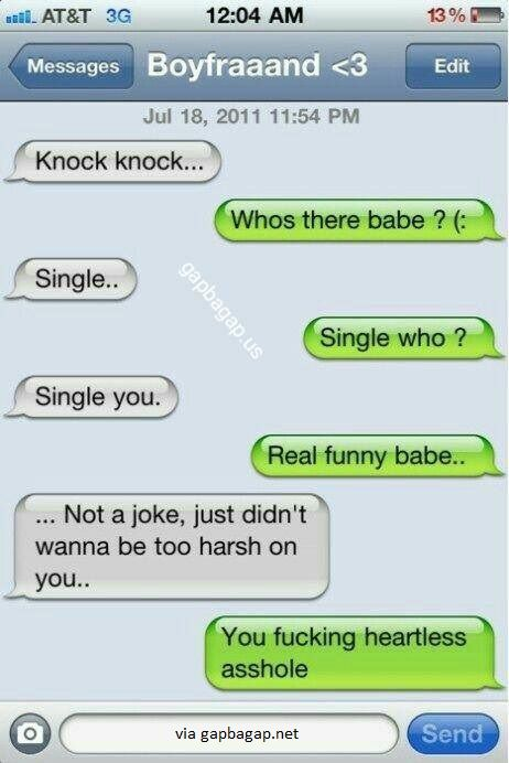 #Funny Text Message By Ex