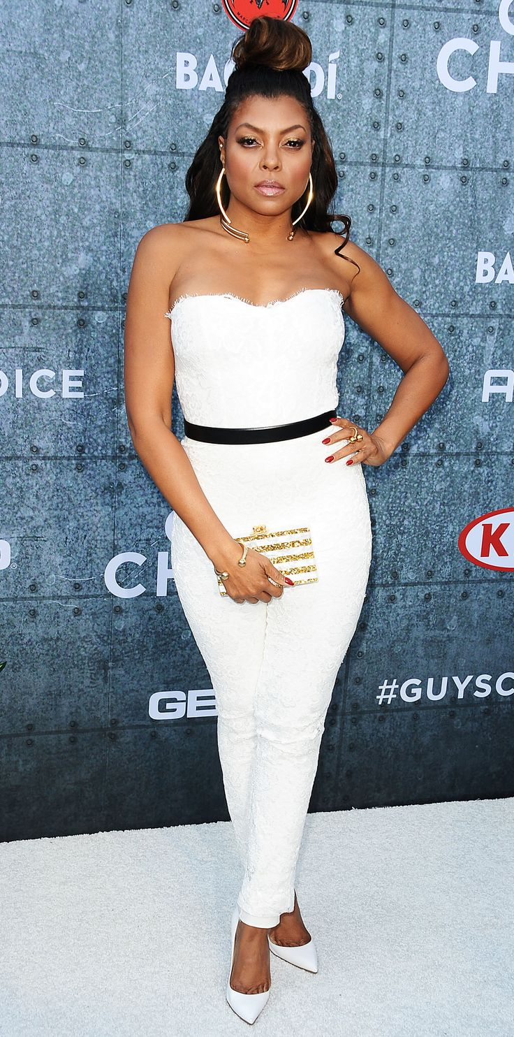 Taraji P. Henson's Best Looks Ever - In Monique Lhuillier, 2015  - from InStyle.com