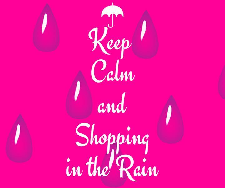 Ragazze ci siamo! Le previsioni però non tolgono alcun dubbio oggi è molto probabile che ci si debba munire di stivali ed ombrelli o solo di un semplice e alla moda trench anche nel pomeriggio!   Noi saremo in VIA MAZZINI 29 da IL Mondo DI Carlotta per l'evento L'invitata Perfetta | Spring Collection 2017  VI ASPETTIAMO NUMEROSE!!  ...anche perché si sa qualche goccia di pioggia non ha mai fermato noi donne di fronte all'istinto femminile di fare #SHOPPING qualunque sia la situazione…