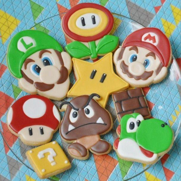Mario Birthday Cake Ideas