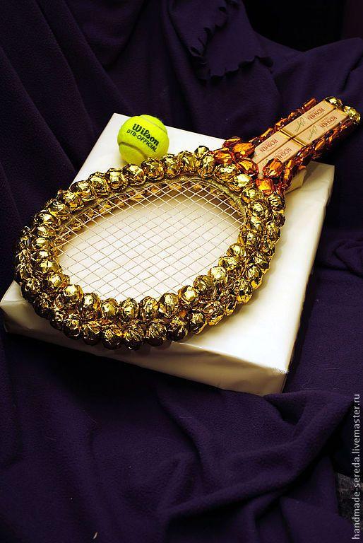 сладкий подарок для теннисиста