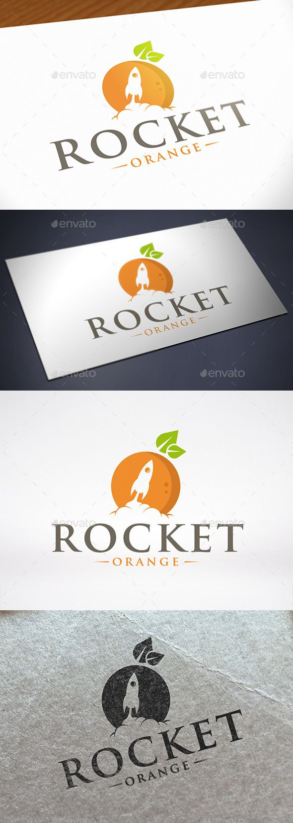 Orange Rocket Logo Template — Vector EPS #eco food #broadcasting corporation • Available here → https://graphicriver.net/item/orange-rocket-logo-template/12243712?ref=pxcr