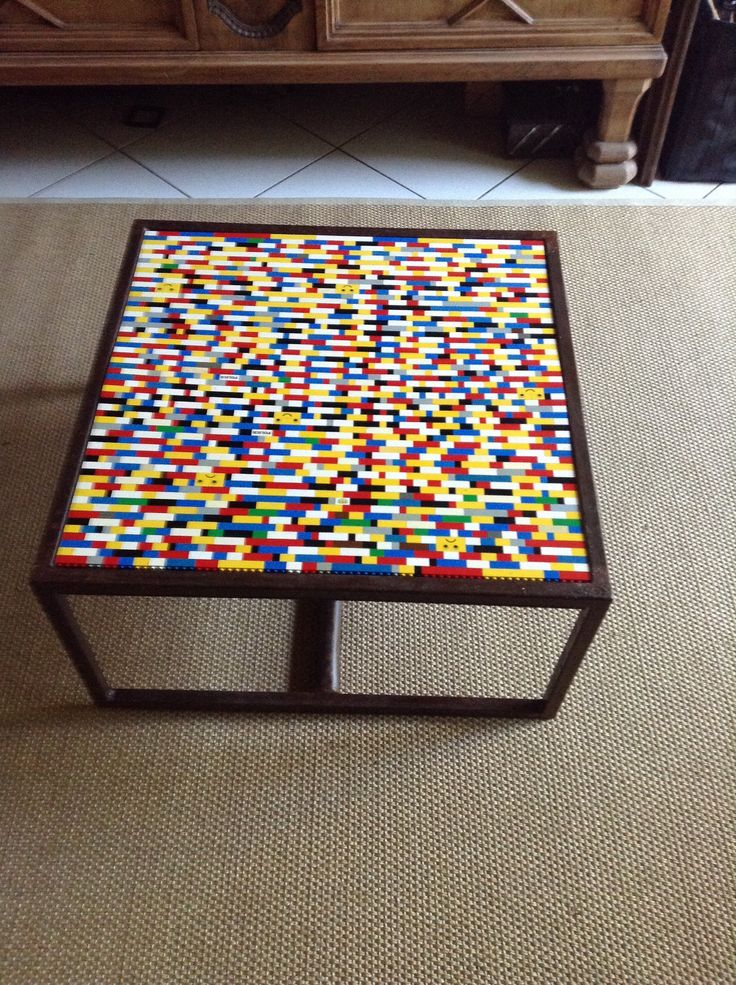Table With Lego S Recycled Ideas Pinterest Shops