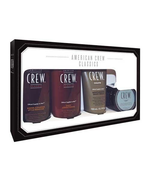 American Crew Classics Fiber Pack - The Emporium Barber Hair Care Set for Men #haircaregiftset, #haircareset,