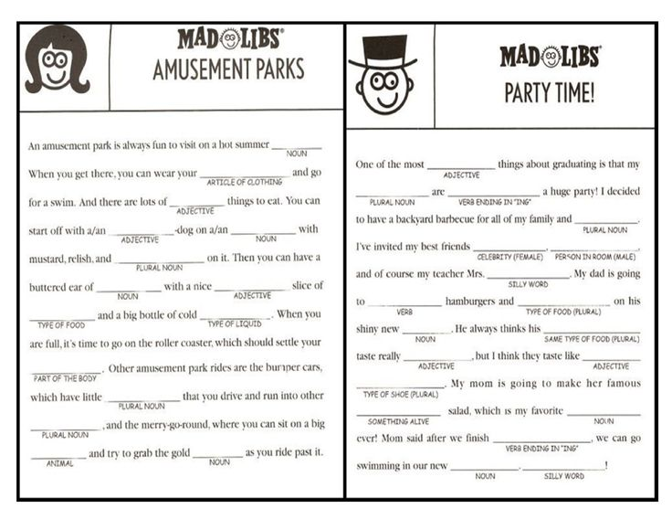 mad libs for adults - Google Search