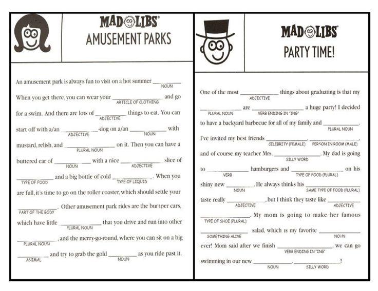 Free Printable Mad Libs Thanksgiving