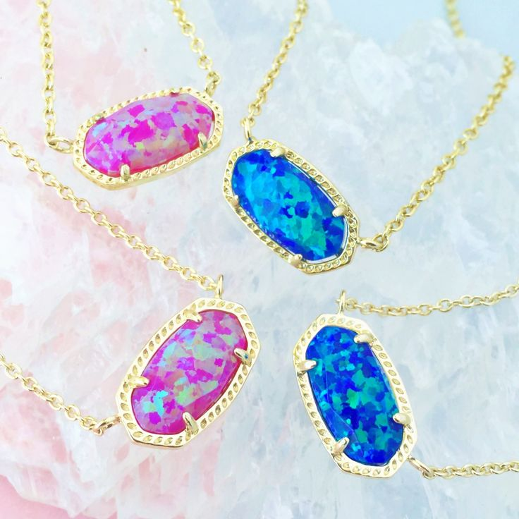 Kendra Scott Elisa Necklace in Opal.