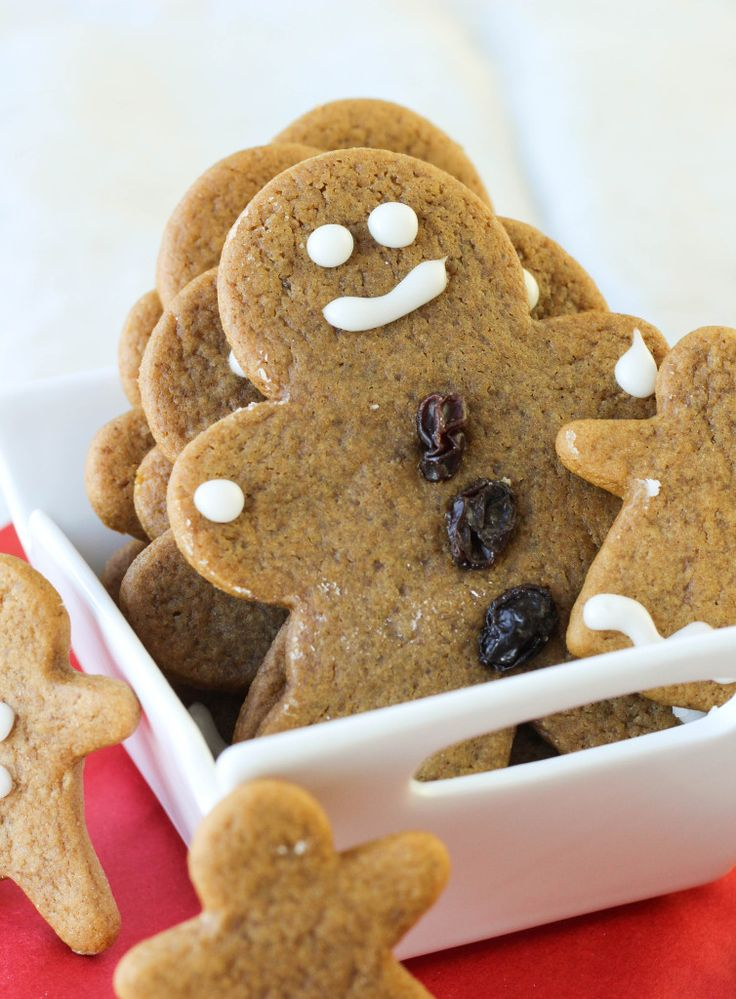 My family recipe for Soft, Chewy Gingerbread Boys