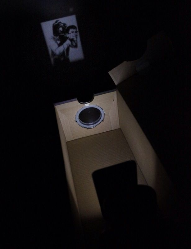 How to Make a Simple Smartphone Projector!