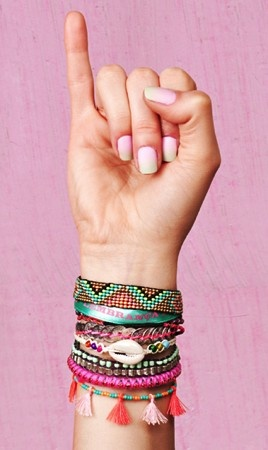 Brazilian braided bracelet