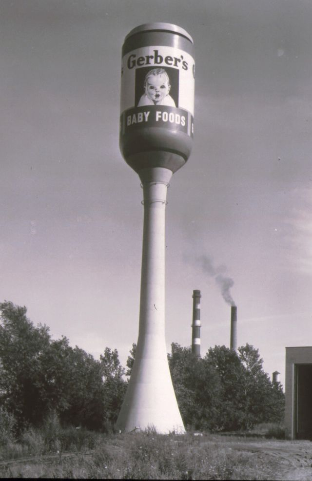 32 Best Ohio Water Towers Fun Images On Pinterest