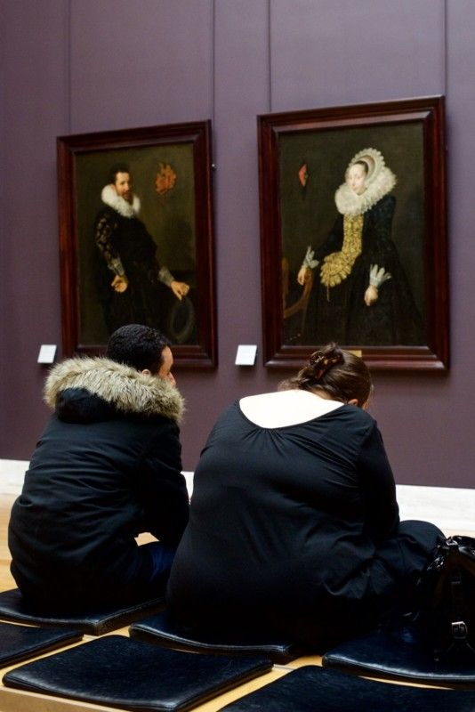 #Photography: People Matching Museum Paintings
