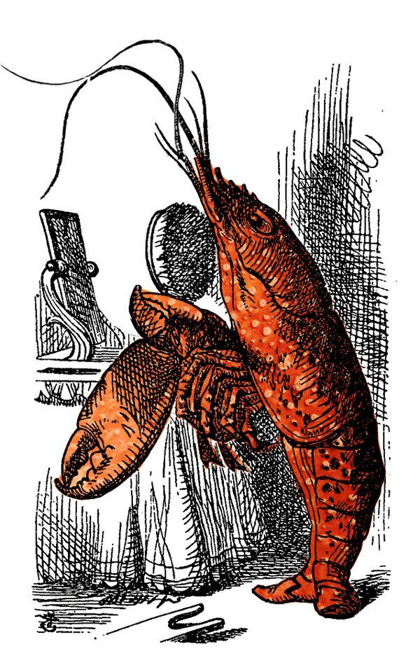 The Lobster Quadrille | Alice and Illustrators
