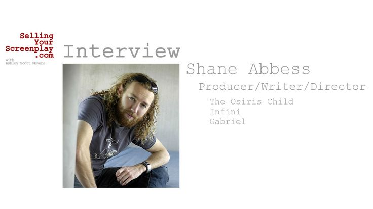 SELLING YOUR SCREENPLAY: Screenwriter / Director / Producer Shane Abbess On His New Sci-Fi Epic, The Osiris Child - Script Magazine  ||  Writer/director Shane Abbess discusses his new sci-fi film The Osiris Child, how he wrote the script and raised the money to get the film produced…