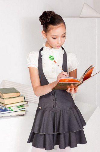 9а класс МБОУ СОШ №146 г.Челябинска: Школьная форма для девочек