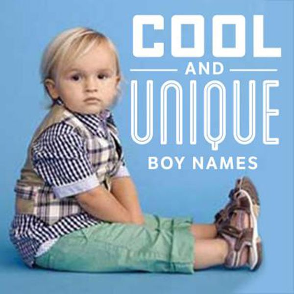 Are you looking for a unique baby boy name that has a cool and edgy sound to it? For those trend-setting parents who want a more unusual boy's name, this list if for you! From modern names like Kace and Slate, to exotic names and sporty names, check out our list of unique boy names.