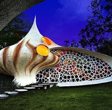 Homes Inspired by Nature - seashell house