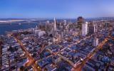 San Francisco văzut din nori