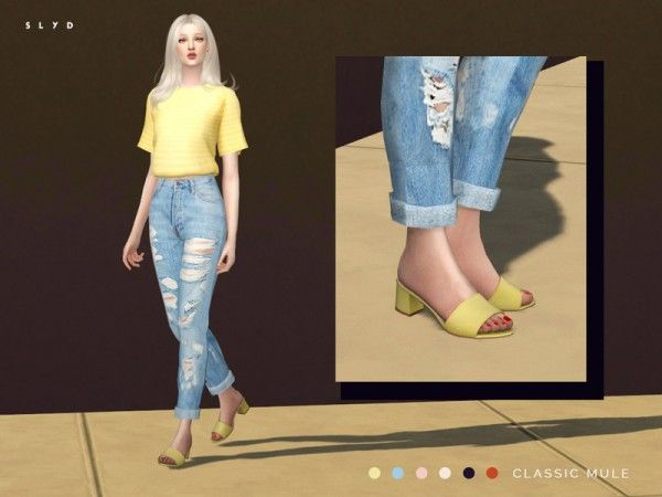 The Sims Resource: Classic Mule by SLYD • Sims 4 Downloads