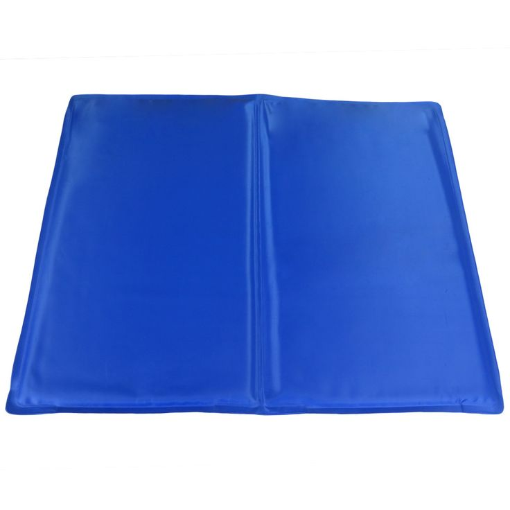 """Evelots Pet Cooling Mat, Keep Cat/Dog Cool, 15.5"""" By 19"""",Blue,Animal Accessories"""