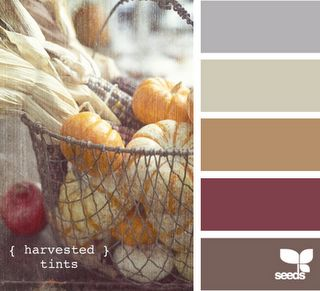 would make a great color palette for a kitchen!