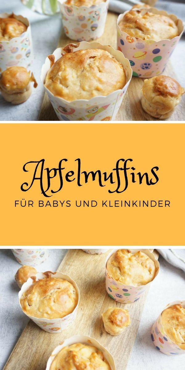 Apfelmuffins ohne Zucker   – KOCHEN FÜR KINDER  | kidfriendly food