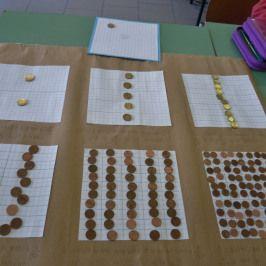 euro frazioni e decimali