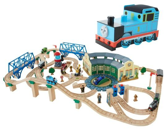 Thomas Wooden Railway Tidmouth Sheds Deluxe Set  sc 1 st  Pinterest & 21 best Aedel\u0027s trains images on Pinterest | Wooden train Trains ...