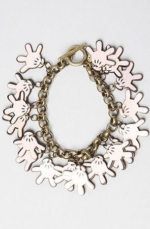 Disney Couture Jewelry The Disney Couture Jewelry X Dr Romanelli Mickely Hand Wood Charm Bracelet