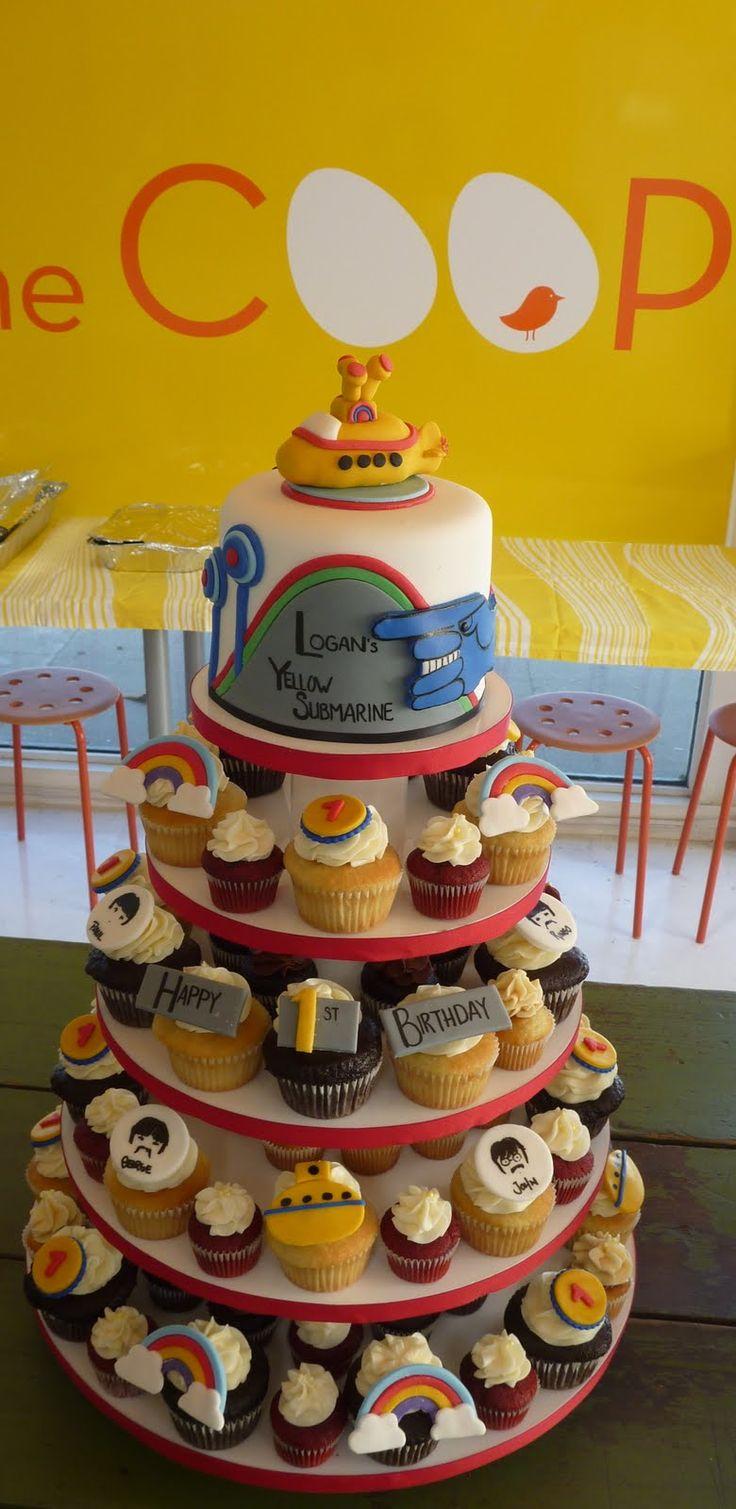 Gmail themes beatles - Yellow Submarine Theme Kids Birthday Party 1508