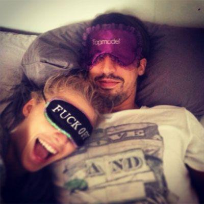 "Lena Gercke & Sami Khedira SelfieSami Khedira macht einen auf ""Topmodel"" und Lena Gercke meint dazu nur ""Fuck Off""? Ein witziges"