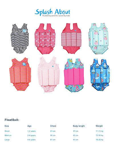 Other Swimwear and Safety 159150: Splash About Childrens Floatsuit Adjustable Buoyancy Swimming Aid -> BUY IT NOW ONLY: $37.99 on eBay!
