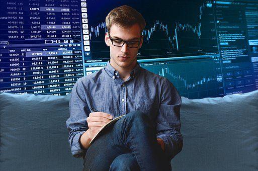 企业家, 启动, 图表, 交易, 课程, 外汇, 分析, 股份